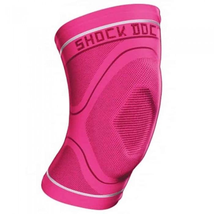 [해외]쇼크닥터 Compression 니트 Knee Sleeve 위드 Gel Pink