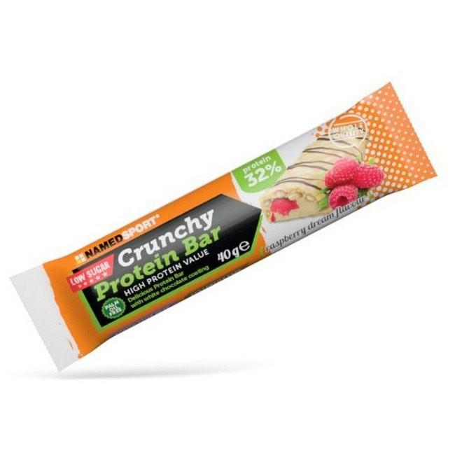 [해외]NAMED SPORT Crunchy Protein 40gr x 24 Bars Raspberry