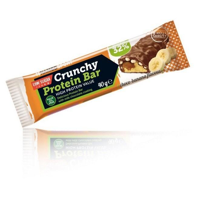 [해외]NAMED SPORT Crunchy Protein 40gr x 24 Bars Chocolate / Banana