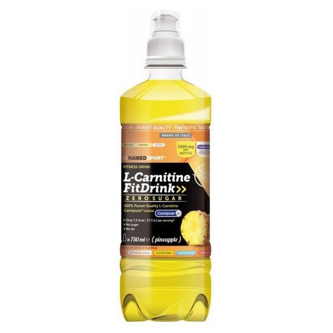 [해외]NAMED SPORT L-Carnitine 피트 Drink 500ml x 18 Units Pineapple
