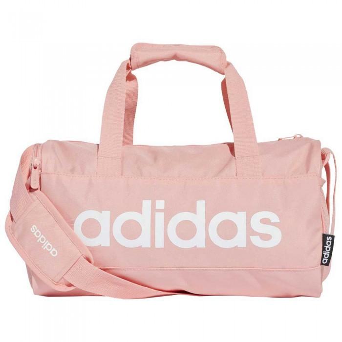 [해외]아디다스 리니어 Duffle 14L Glory Pink / Glory Pink / White