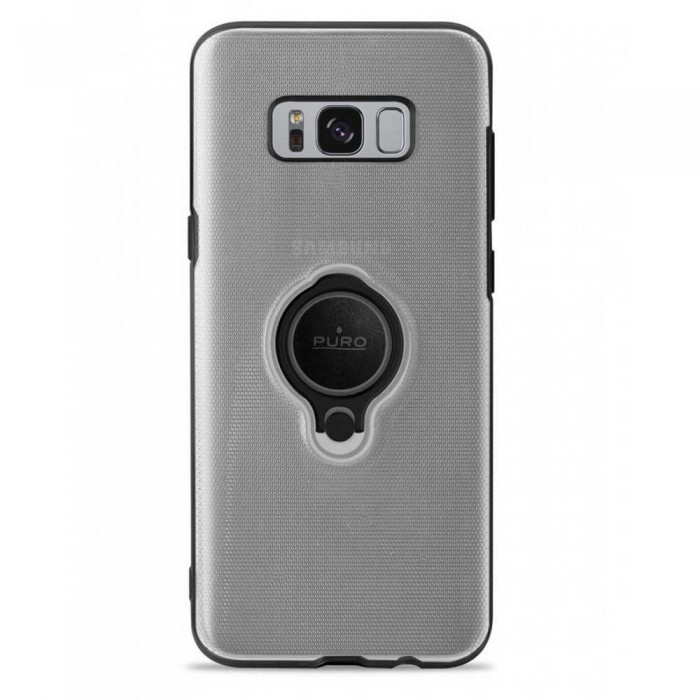 [해외]PURO Magnet Ring Cover Samsung Galaxy S8 Plus Clear