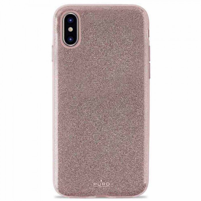 [해외]PURO Cover Shine iPhone Xs/X Rose Gold