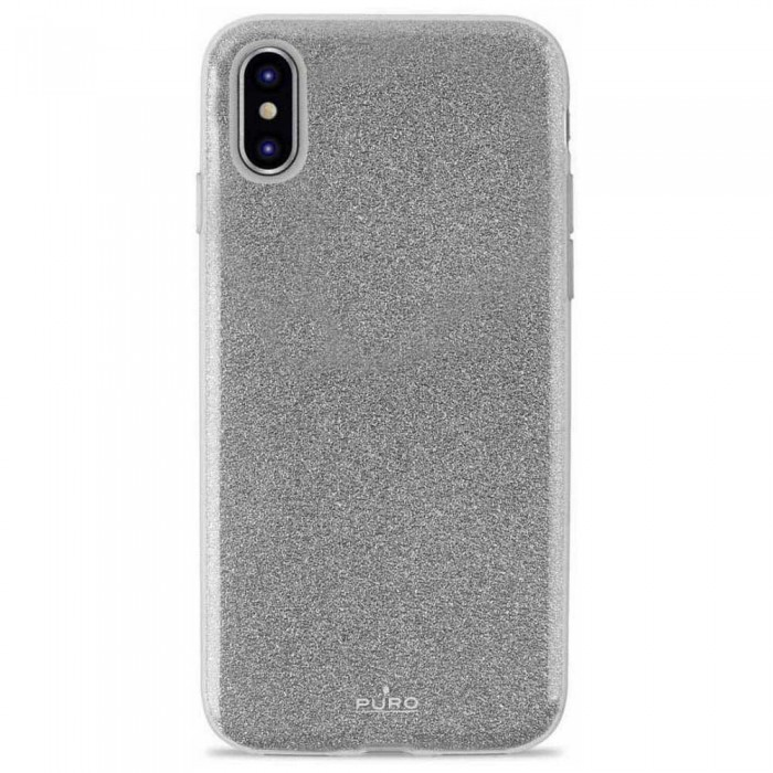 [해외]PURO Cover Shine iPhone Xs/X Silver