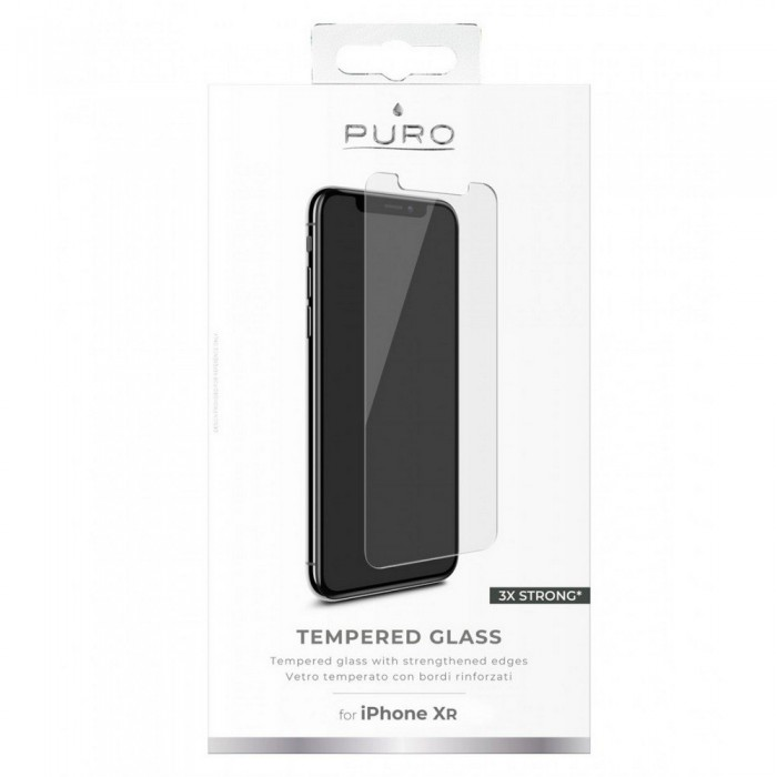 [해외]PURO Tempered Glass iPhone XR Clear