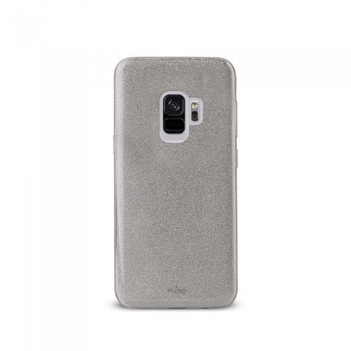 [해외]PURO Cover Shine Samsung Galaxy S9 Silver