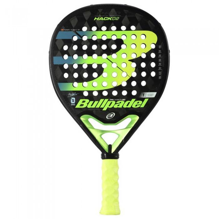 [해외]BULLPADEL Hack 02 Black / Yellow Fluor