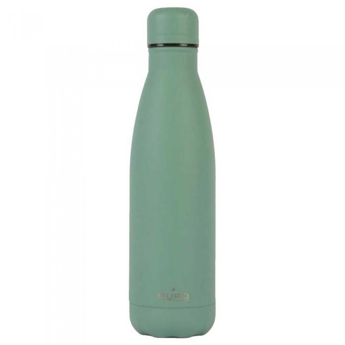 [해외]PURO Stainless 스틸 아이콘 500ml Dark Green