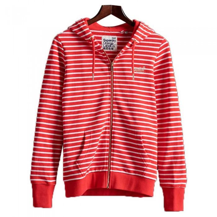 [해외]슈퍼드라이 오렌지 라벨 클래스ic 루프백 Festive Red Stripe