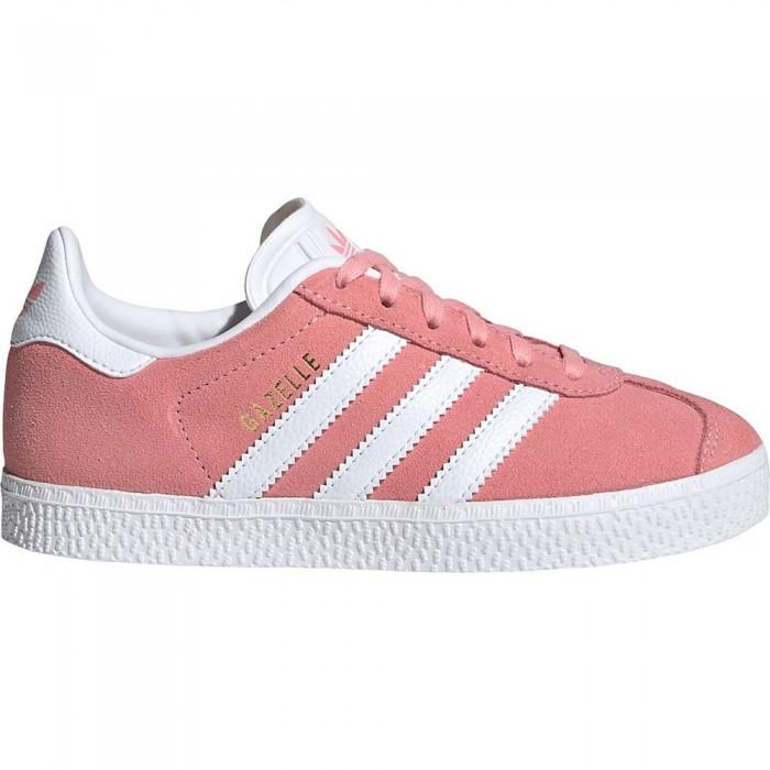[해외]아디다스 오리지널 Gazelle Child Glory Pink / Footwear White / Gold Metal