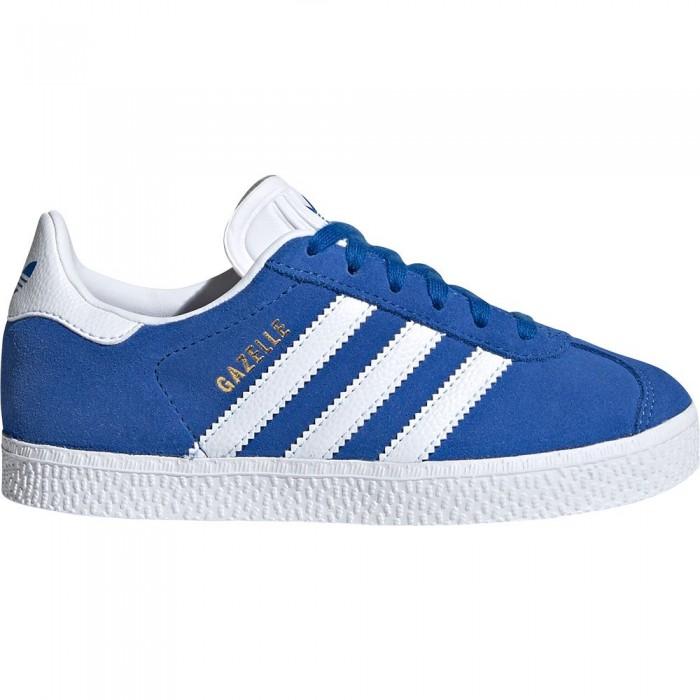 [해외]아디다스 오리지널 Gazelle Child Blue / Footwear White / Gold Metal