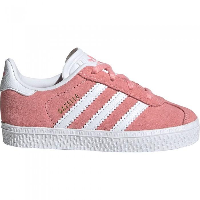 [해외]아디다스 오리지널 Gazelle Infant Glory Pink / Footwear White / Gold Metal