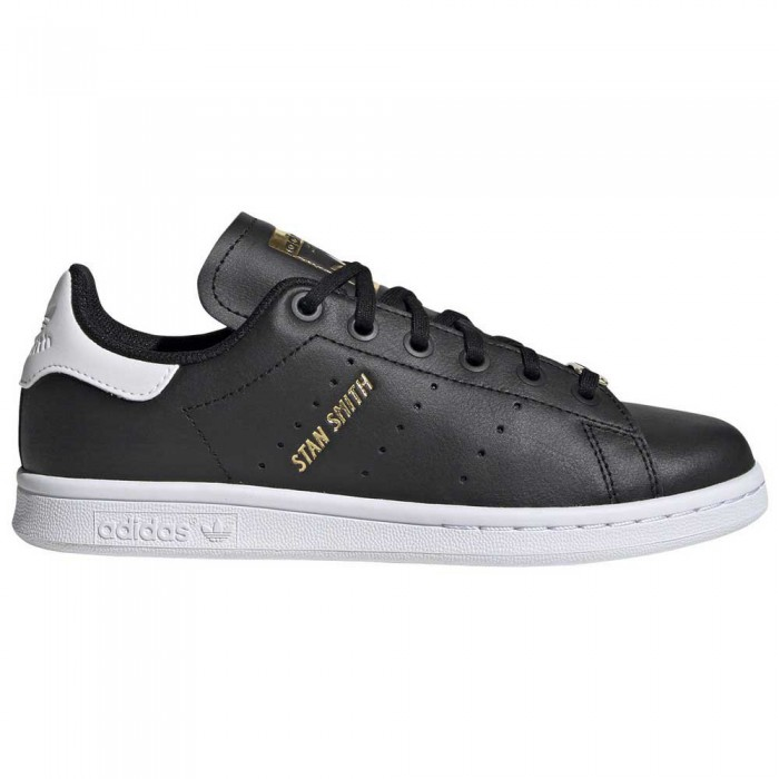 [해외]아디다스 오리지널 스탠 스미스 Junior Core Black / Core Black / Footwear White