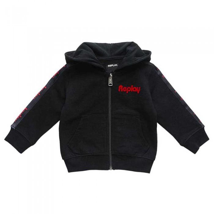 [해외]리플레이 PB2425 스웨트셔츠 Black
