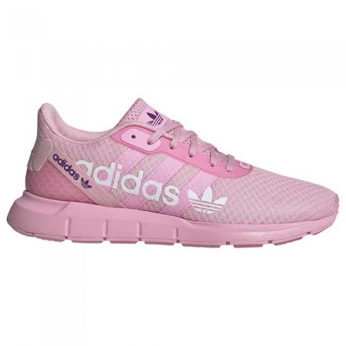 [해외]아디다스 오리지널 스위프트 Run RF True Pink / True Pink / Glory Purple