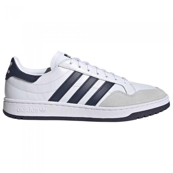 [해외]아디다스 오리지널 팀 코트 Footwear White / Collegiate Navy / Core Black