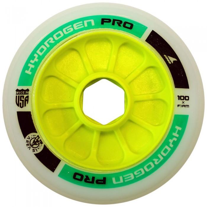 [해외]롤러블레이드 Pro 100 mm X-Firm 8 Units Green
