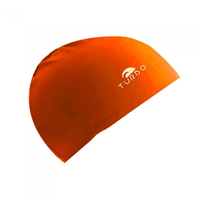 [해외]터보 오렌지 Lycra Cap 위드 Narrow Rubber Junior Orange