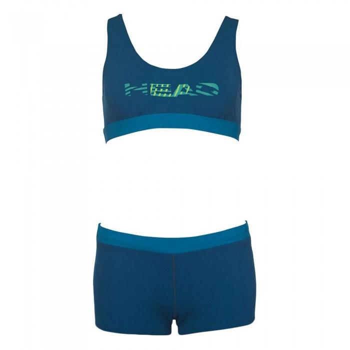 [해외]헤드 SWIMMING Colourise Shorty Bikini 6137475031 Petrol Blue
