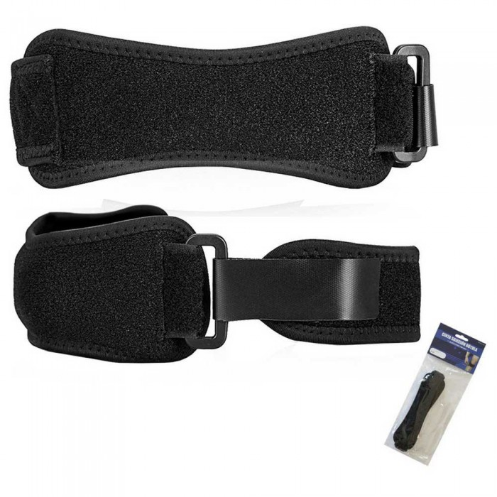 [해외]SOFTEE Knee Strap 7137568360 Black