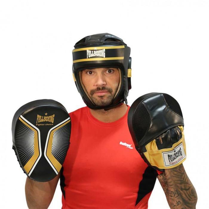 [해외]SOFTEE Martial Arts Focus Punch Mitts King Black / Gold