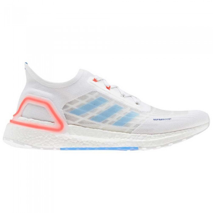 [해외]아디다스 울트라boost 서머.RDY Footwear White / Glory Blue / Solar Red