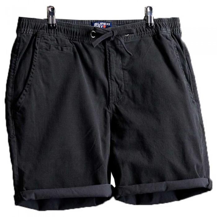 [해외]슈퍼드라이 썬스코치드 치노 Washed Black Dogtooth