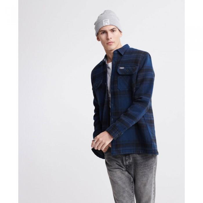 [해외]슈퍼드라이 Miller Flannel Blue Check
