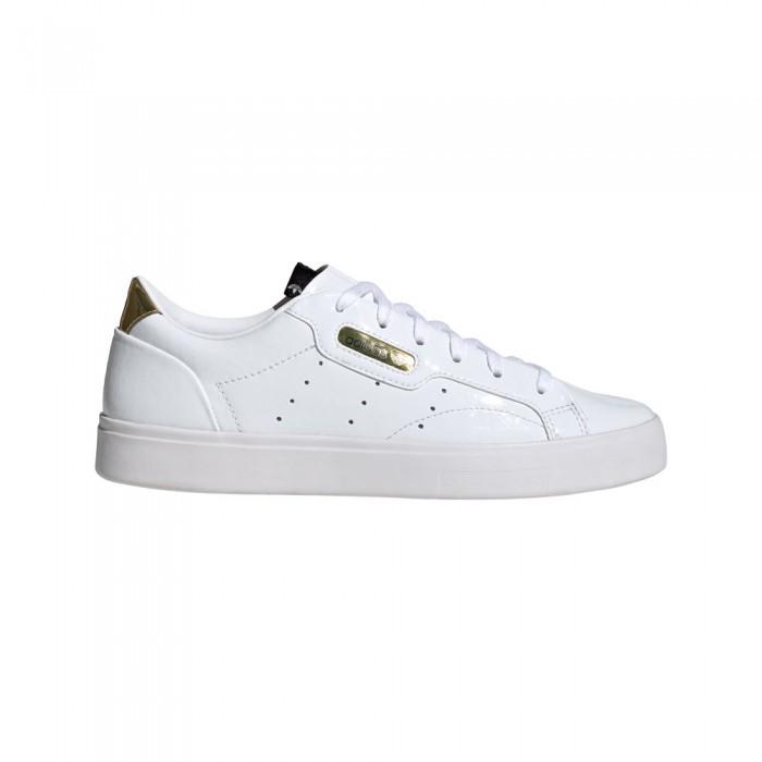[해외]아디다스 오리지널 슬릭 Core Black / Crystal White / Footwear White