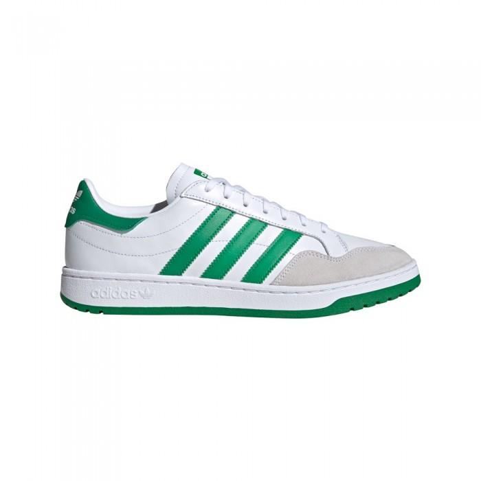[해외]아디다스 오리지널 팀 코트 Footwear White / Green / Core Black