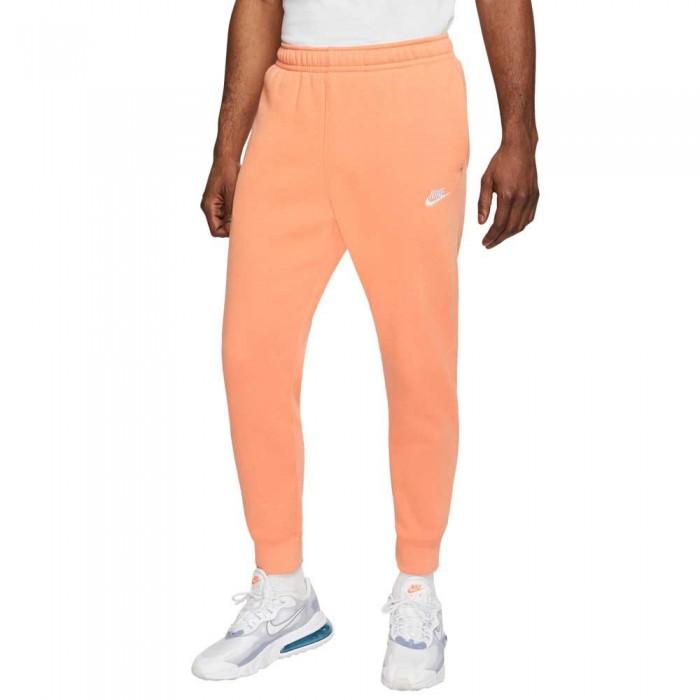 [해외]나이키 스포츠웨어 클럽 플리스 조거s Orange Trance / White