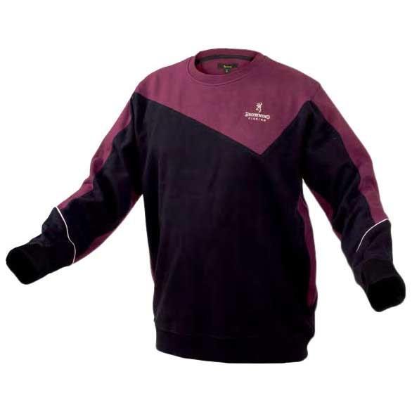 [해외]BROWNING Sweat Shirt 137578166 Black / Burgundy