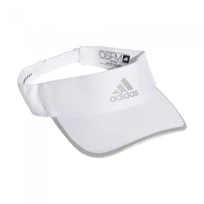 [해외]아디다스 러너 에어로ready White / White / Reflective Silver