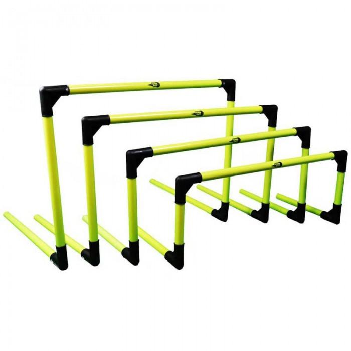 [해외]POWERSHOT 세트 of 6 Collapsible Hurdle Green Fluo