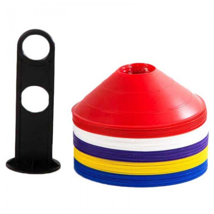 [해외]POWERSHOT 세트 Of 50 Marking Cones Multicoloured