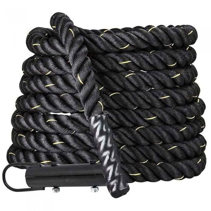 [해외]SOFTEE Functional Battle Rope 위드 Hook Black