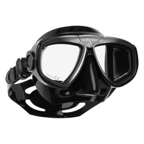 [해외]스쿠바프로 Zoom Evo Diving Mask 10136708189 Black Silver / Black