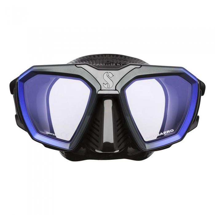 [해외]스쿠바프로 D-Series D420 Wide Diving Mask 10137366572 Black / Blue
