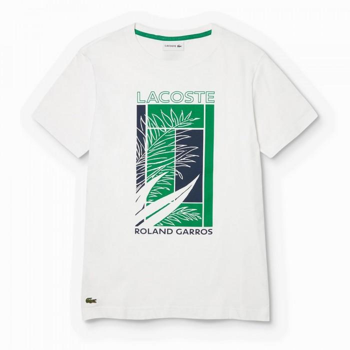 [해외]라코스테 TH3637-00 White / Green-Navy Blue