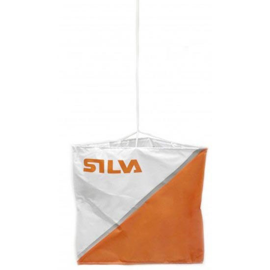 [해외]SILVA Reflective Marker 6x6 cm 6137317643 White / Orange