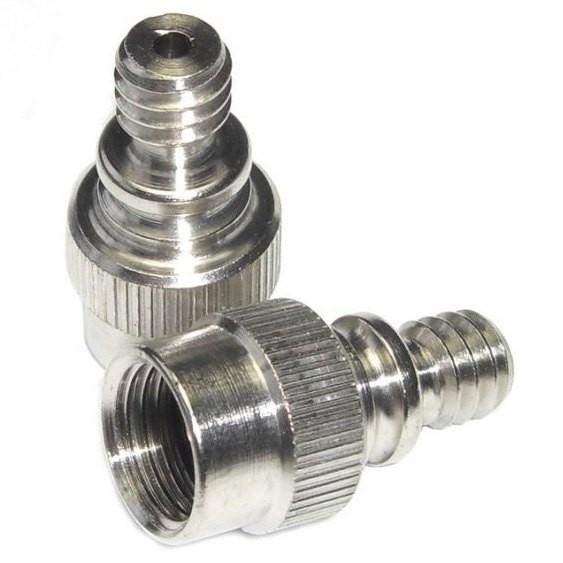 [해외]MIJNEN PIEPER Express A-F Dunlop/Presta To Standard Adapter 2 Units 12137515746 Silver