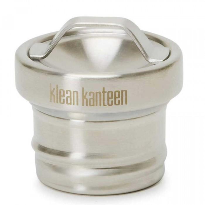 [해외]KLEAN KANTEEN All Stainless Loop Cap Brushed For Kanteen Classic 141315130 Steel