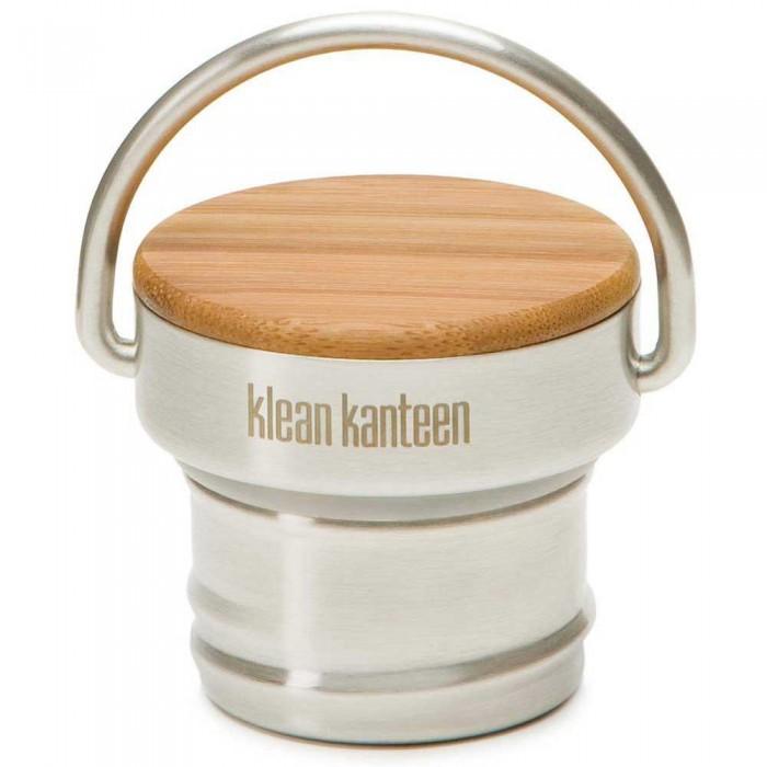 [해외]KLEAN KANTEEN Stainless Unibody Bamboo Cap For Kanteen Classic 141315131 Steel
