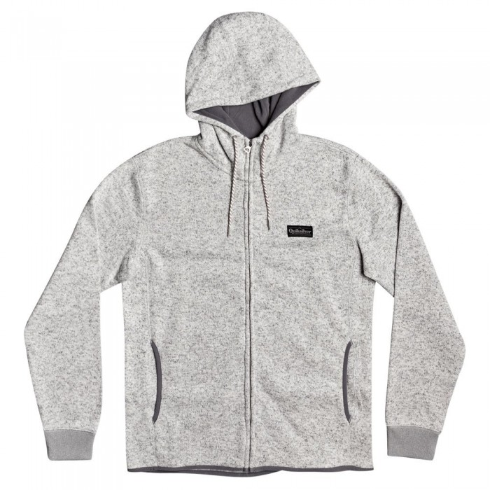[해외]퀵실버 Keller Zip Fleece 14137590869 Light Grey Heather