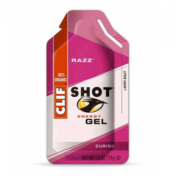 [해외]CLIF Energygrel Raspberry Box 24 Units 1270578