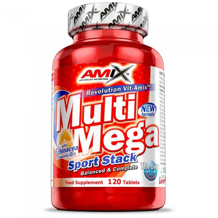 [해외]AMIX Multi Mega Stack 120 Tablets 137599009