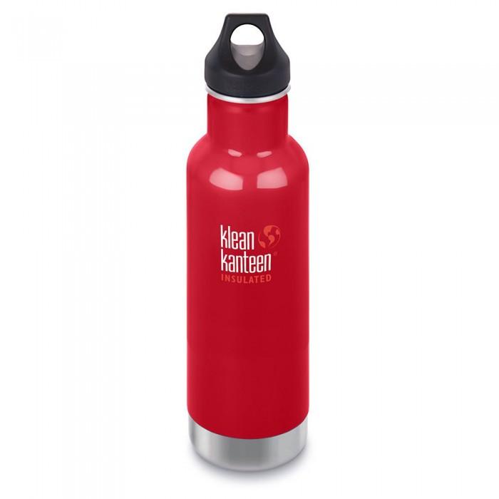 [해외]KLEAN KANTEEN Insulated Classic 590ml 6137089016 Mineral Red