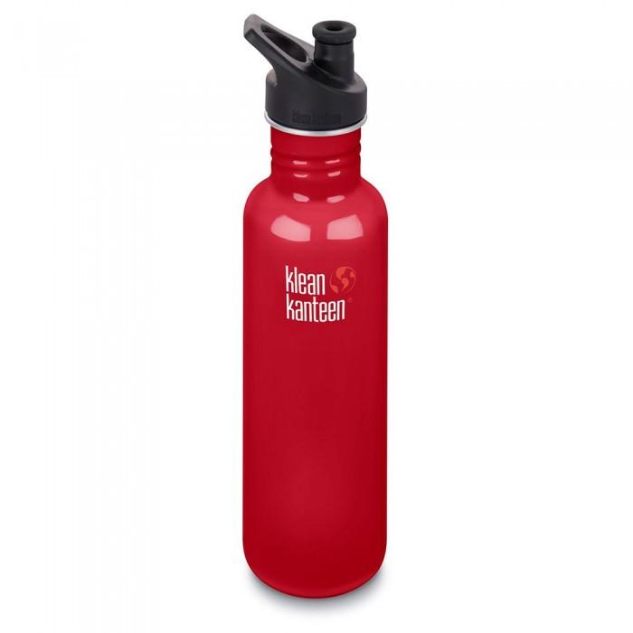 [해외]KLEAN KANTEEN Classic 800ml 7137088998 Mineral Red