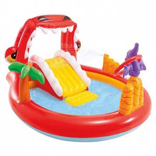 [해외]인텍스 Happy Dino Water Play Centre 6137566099 Multi