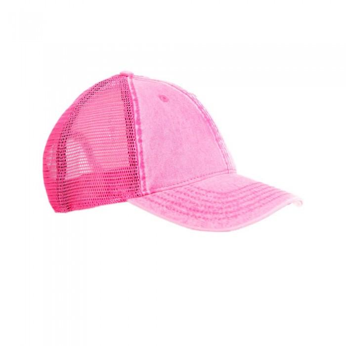 [해외]슈퍼드라이 트러커 Pink Acid Wash